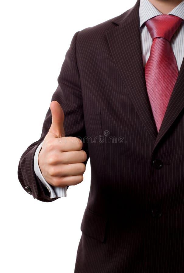 businessman everything ok thumbs up стоковые изображения rf
