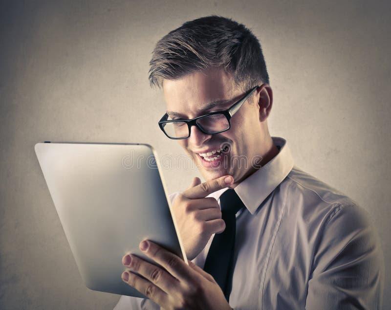 businessman excited στοκ φωτογραφίες