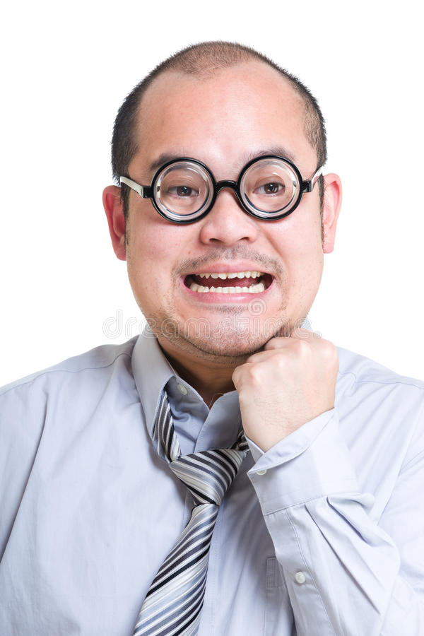 businessman excited στοκ εικόνα