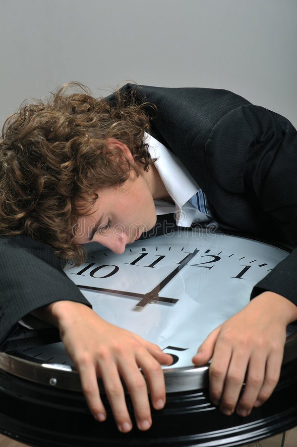 Download Businessman exhausted stock photo. Image of people, businessperson - 8556668