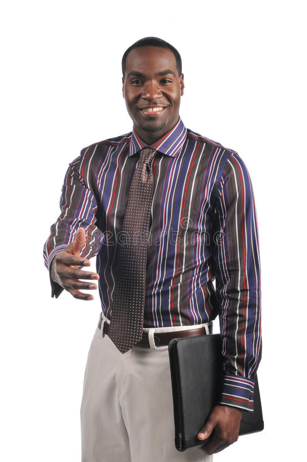 Download Businessman Extending A Hand Shake Royalty Free Stock Photography - Image: 11865287