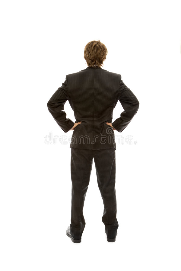 Download Businessman faces away stock photo. Image of self, businessman - 2386202