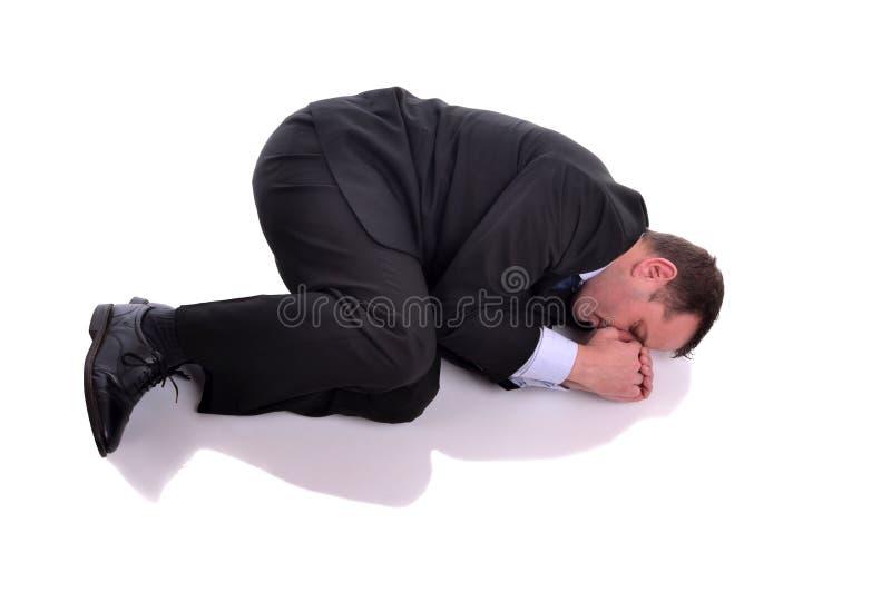 businessman in fetal position stock image image of security recuperate 30853459. Black Bedroom Furniture Sets. Home Design Ideas