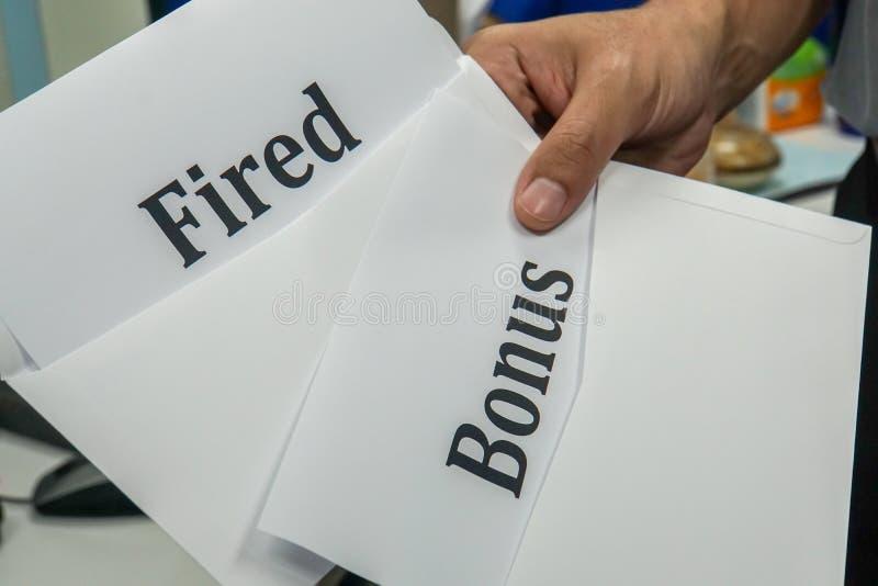 fired letter employee