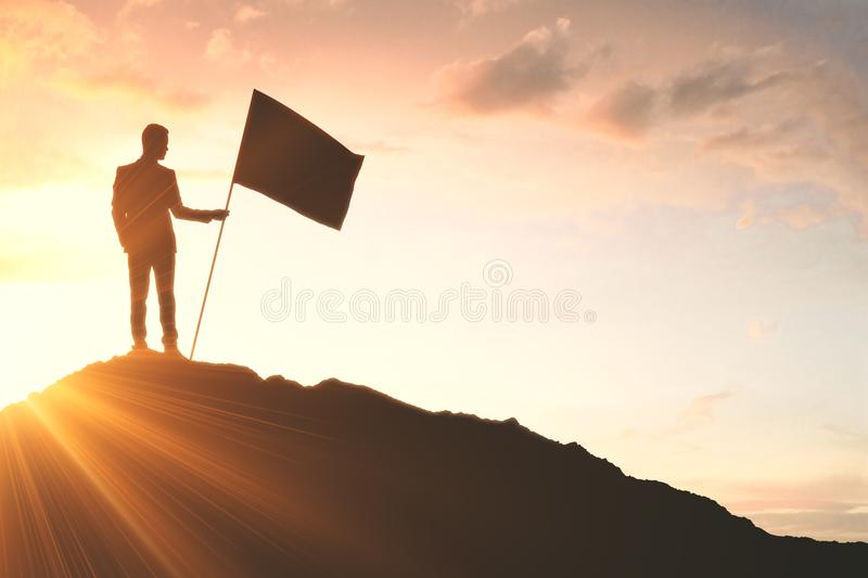 Success and victory concept royalty free stock photos
