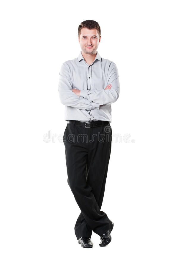 Download Businessman With Folded Hands Stock Image - Image: 25258259