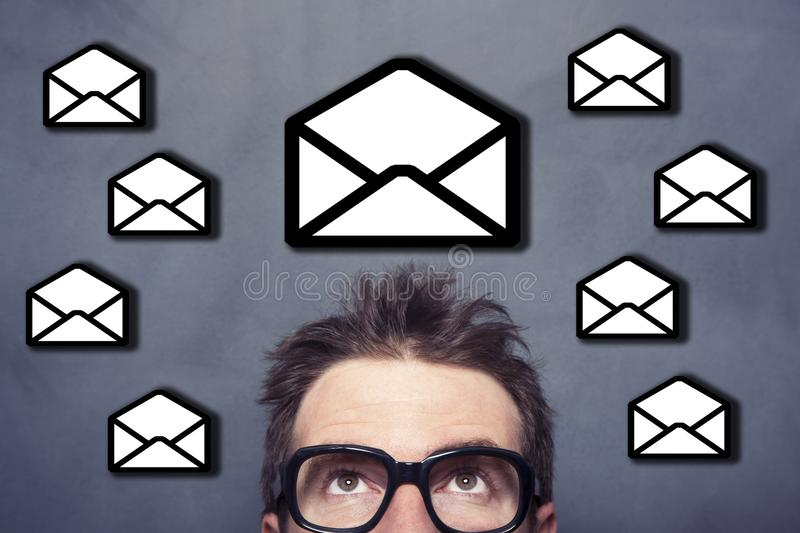 Mail For Business stock images
