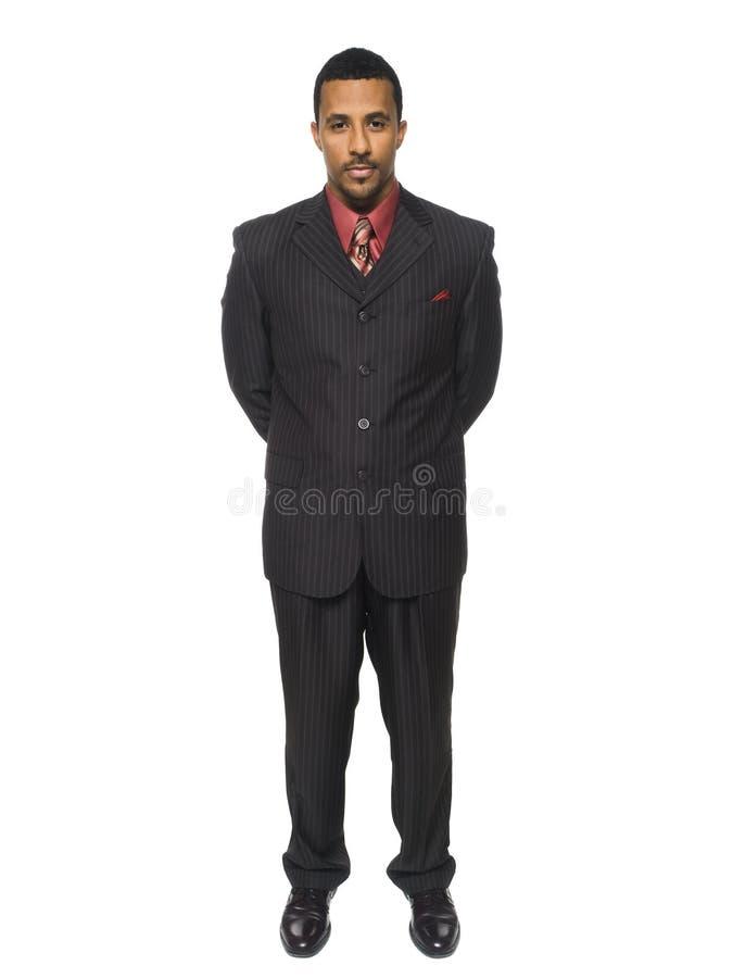 Businessman - full confidence stock image