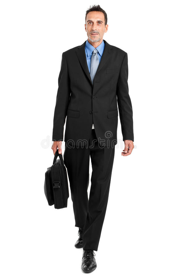 Download Businessman full length stock image. Image of male, isolated - 26612709