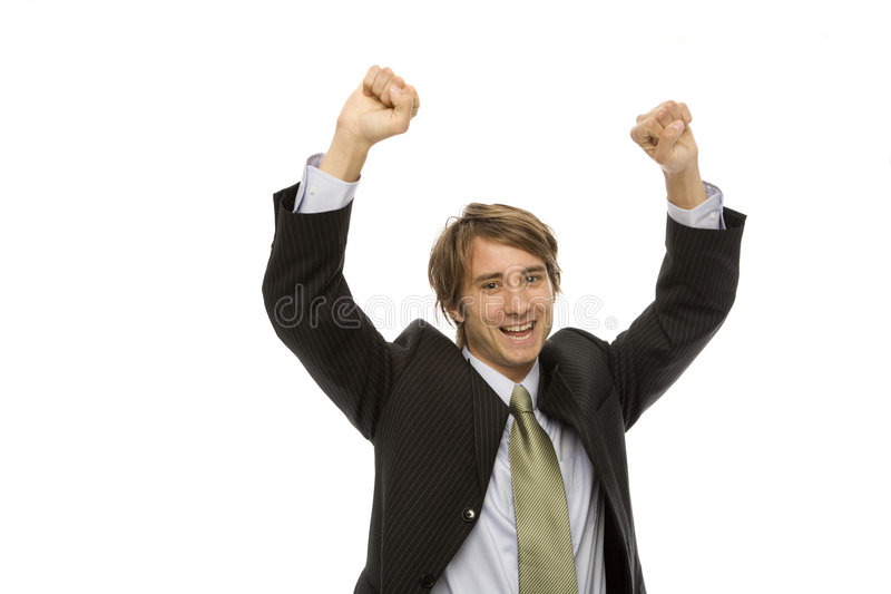 Download Businessman Gestures Success Stock Photo - Image: 2386180