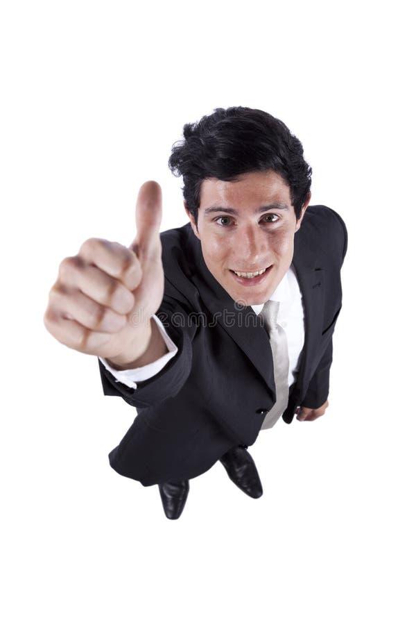 Download Businessman gesturing OK stock photo. Image of employee - 18197976
