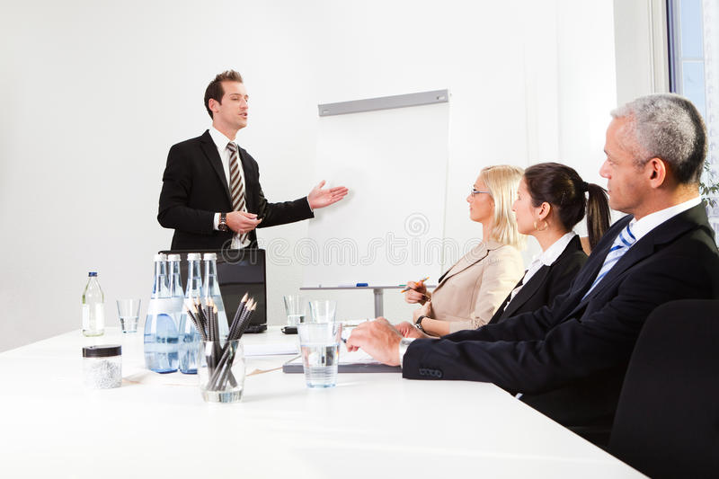 Download Businessman Giving A Presentation Stock Image - Image: 17851501