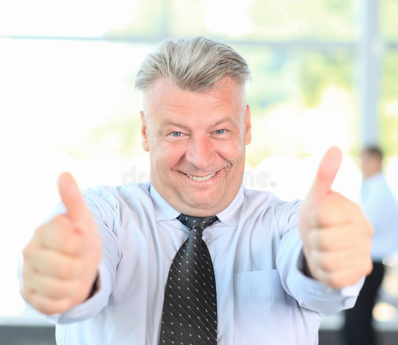 Download Businessman Giving You Thumbs Up Stock Image - Image of confident, lifestyle: 26530831