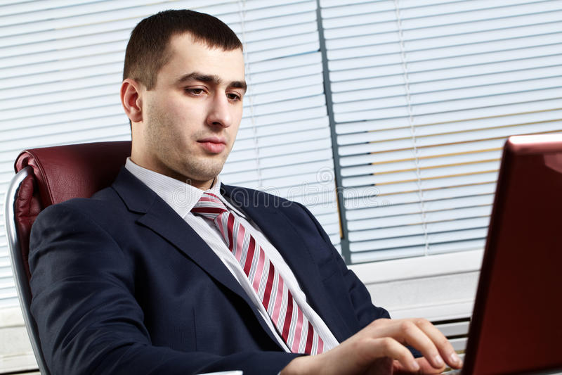 Download Businessman Of Handsome Presence Stock Image - Image of looking, collar: 18002679