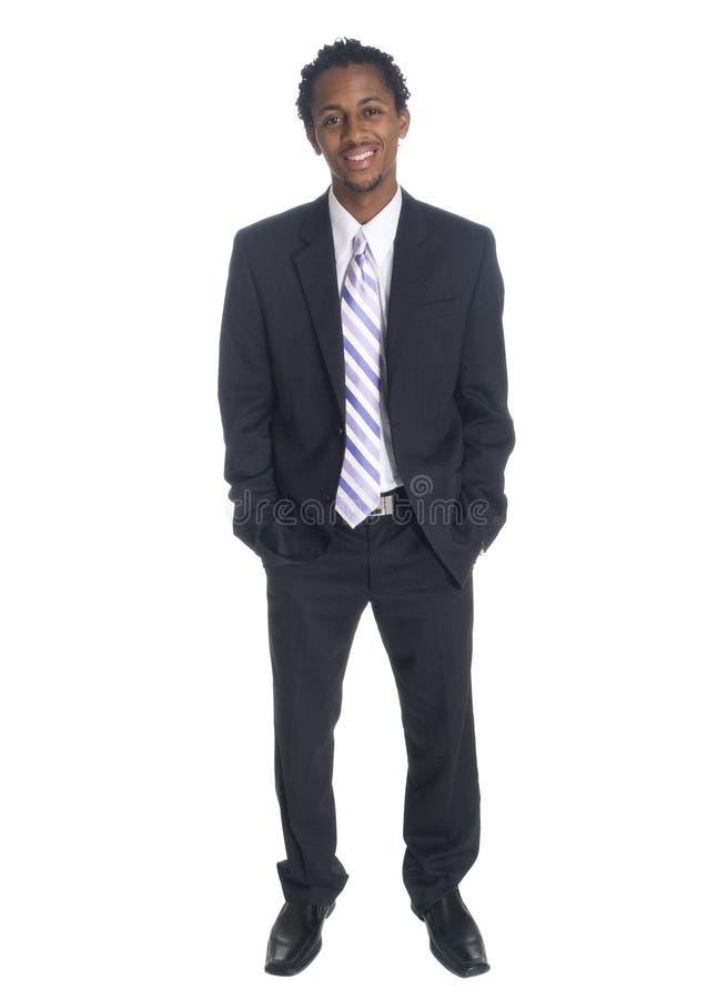 Businessman - happy smile stock photo