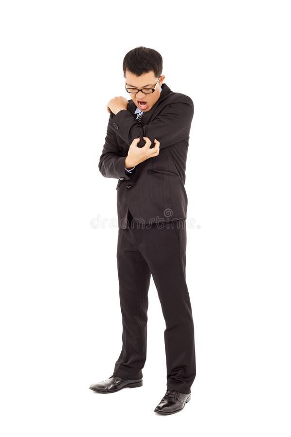 Download Businessman Having  Elbow Pain Stock Image - Image: 38787003