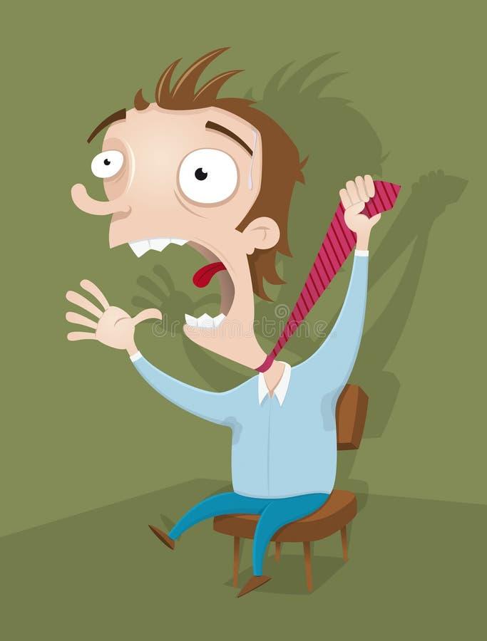 Download Businessman Having Stress Royalty Free Stock Photos - Image: 14931328