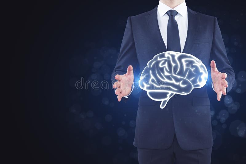 Brainstorm and mind concept stock images
