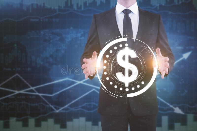 Finance and investment concept royalty free stock image