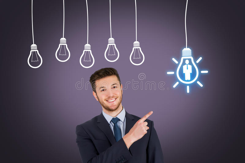 Businessman Human Resource Idea royalty free stock images