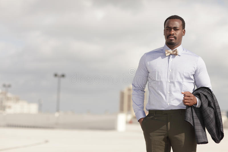 Download Businessman With Jacket Over His Arm Stock Photo - Image: 22304834
