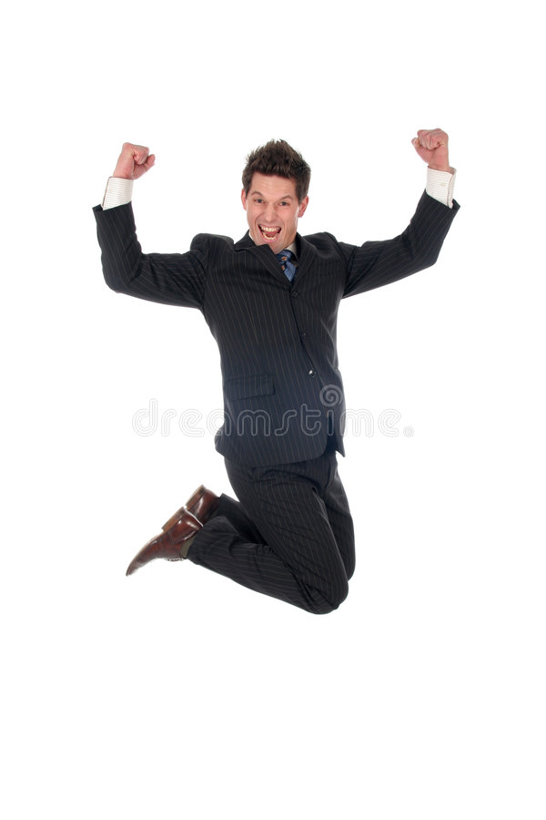 Free Businessman Jumping Royalty Free Stock Images - 1620169