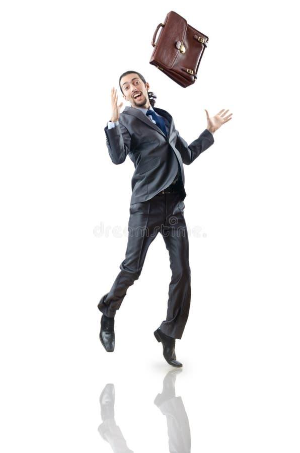 Download Businessman Jumping Royalty Free Stock Photos - Image: 22231968
