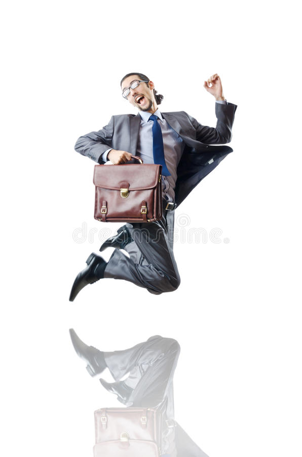 Download Businessman Jumping Stock Photo - Image: 22231970