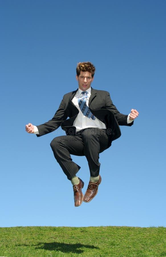 Download Businessman Jumping For Joy Stock Image - Image: 2262601
