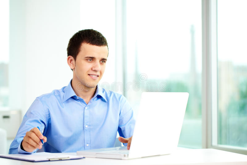 Download Businessman With Laptop Royalty Free Stock Photo - Image: 22465315