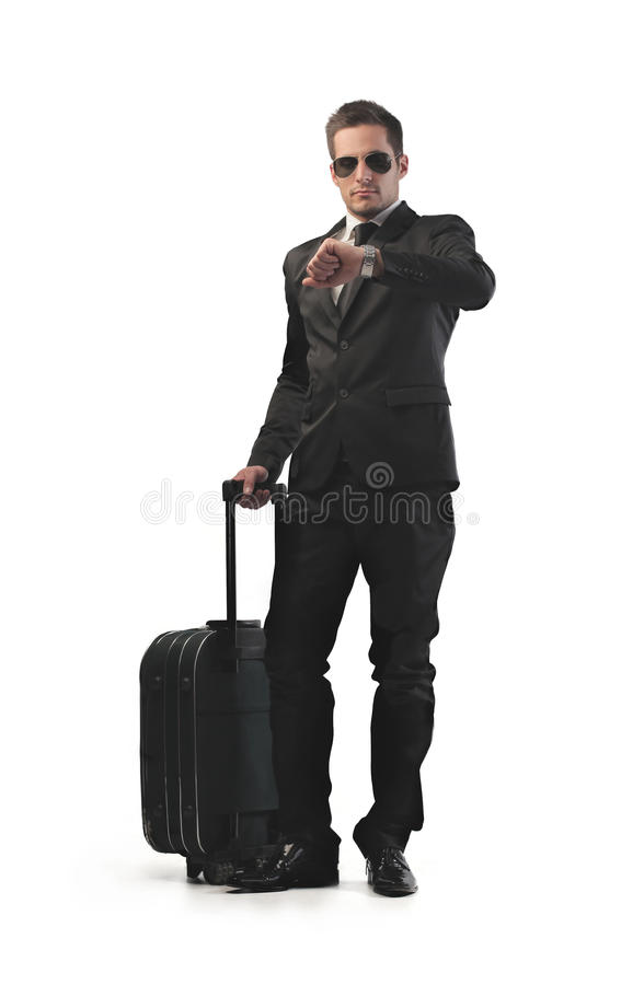 Download Businessman Leaving stock photo. Image of office, caucasian - 26750320
