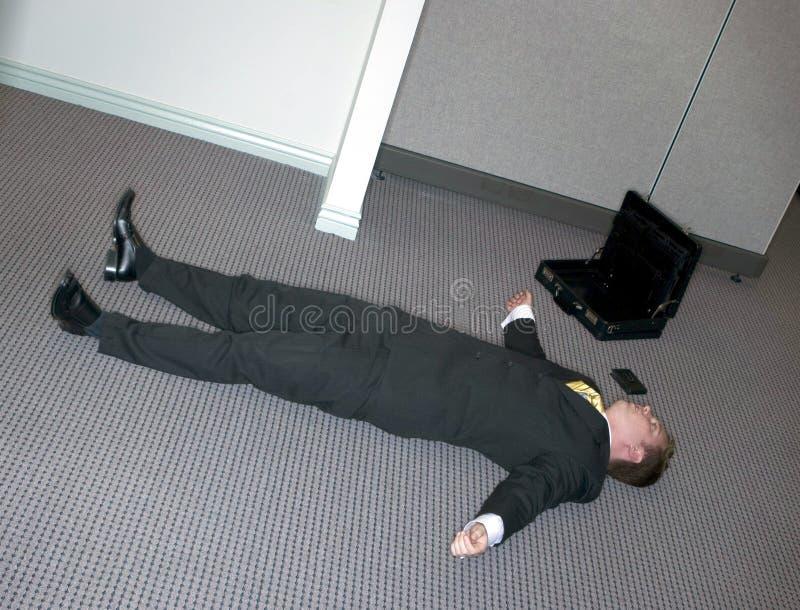 Download Businessman lies down stock image. Image of adult, bankrupt - 1795915