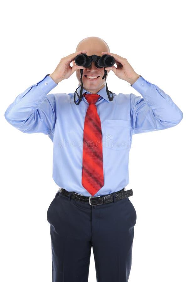 Download Businessman Looking Through Binoculars Stock Image - Image: 16403709