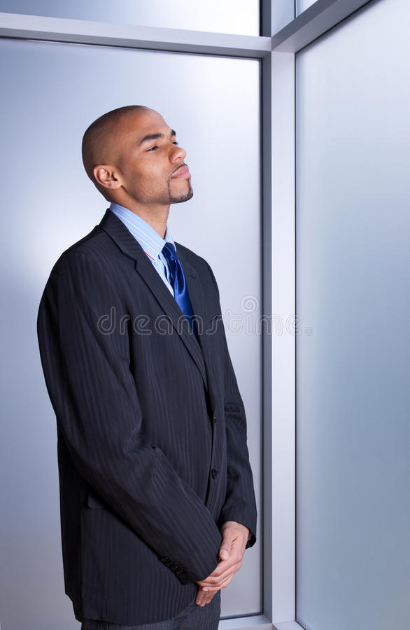 Download Businessman Looking Calm And Peaceful Stock Photo - Image: 20557632