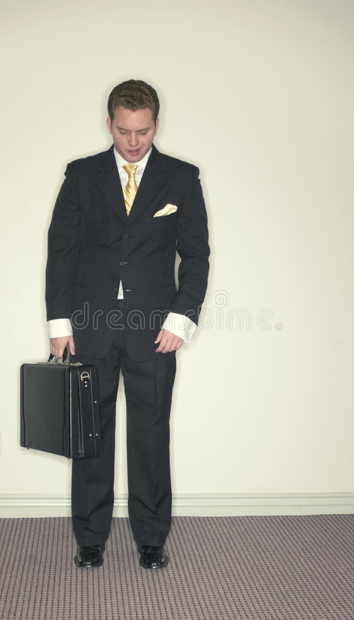 Download Businessman looks down stock photo. Image of businessmen - 1795612