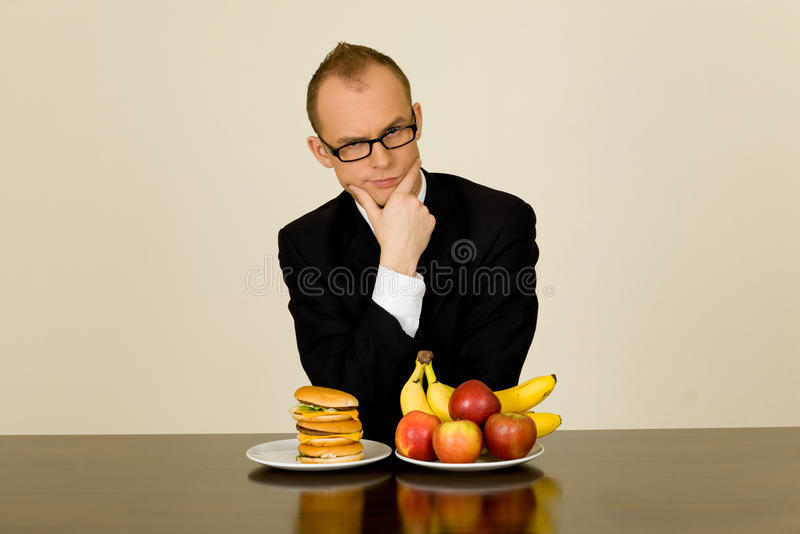 Download Businessman At Lunch Stock Photography - Image: 25678432