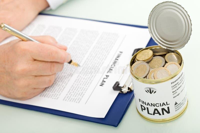 Download Businessman Making Financial Plan Stock Image - Image: 18449395