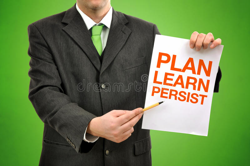Download Businessman With Marketing Strategy Stock Image - Image: 21880073