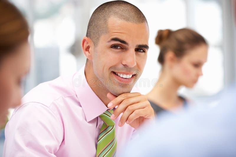 Download Businessman in meeting stock photo. Image of businesswomen - 20594838
