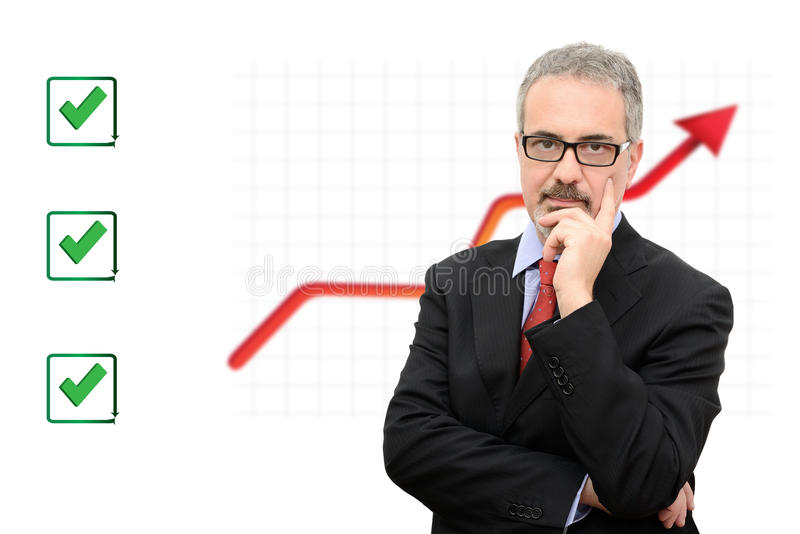 Download Businessman stock image. Image of hair, background, whiskers - 33419159