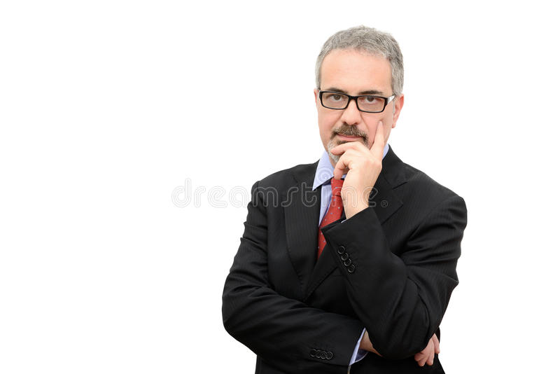 Download Businessman stock photo. Image of middle, graying, whiskers - 33419166