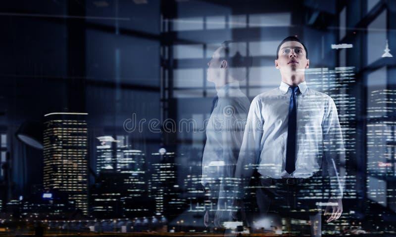 businessman modern office Μικτά μέσα Μικτά μέσα στοκ εικόνες