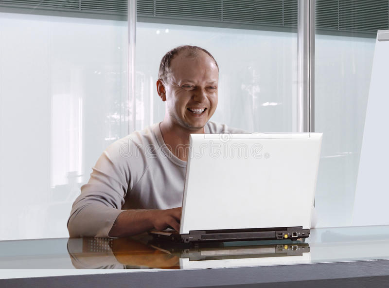Download Businessman In The Modern Office Stock Photo - Image: 9483072