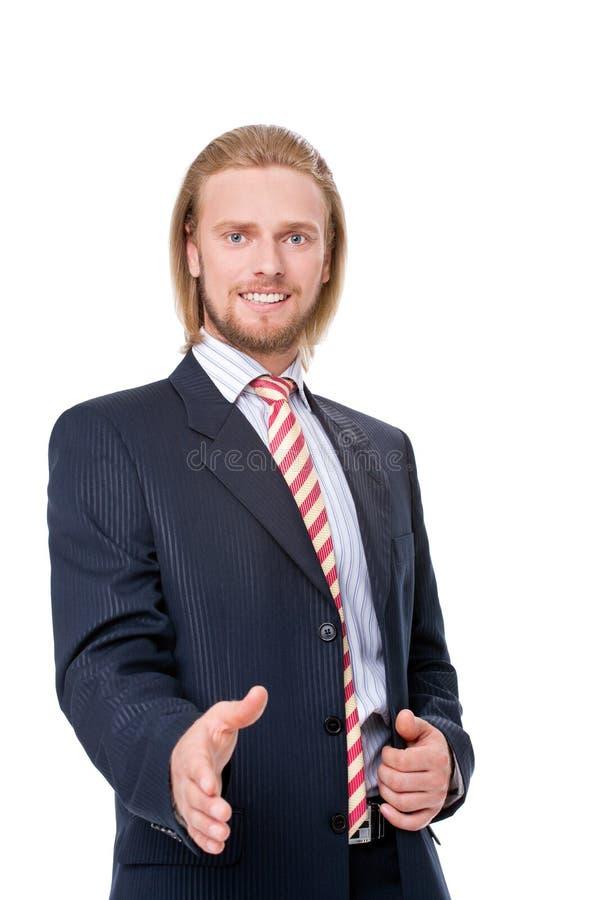 Download Businessman Offering A Handshake Stock Photo - Image: 24824994