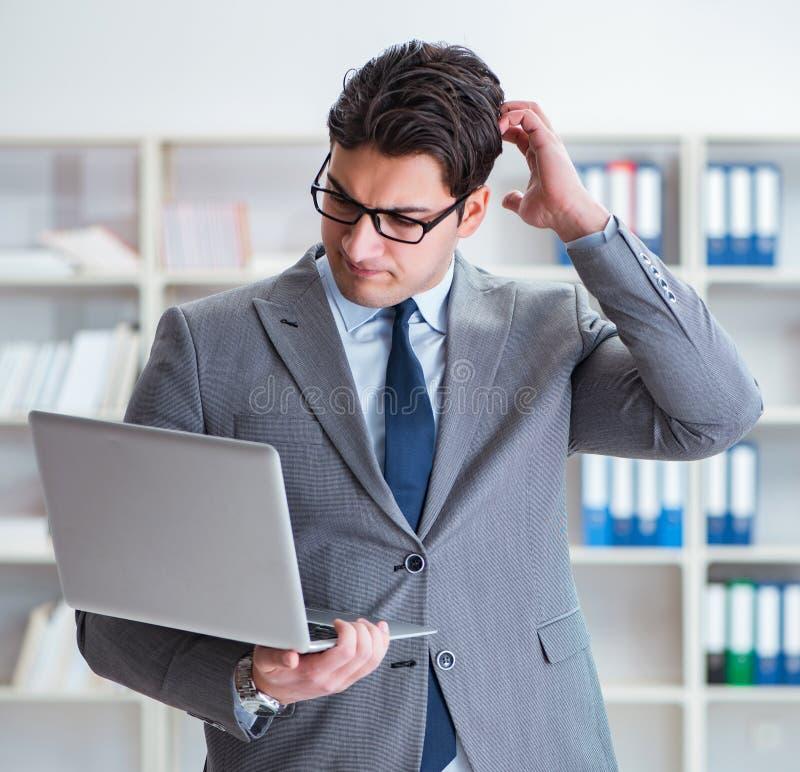 Insolvent Businessman Having Difficulty Raising Finance