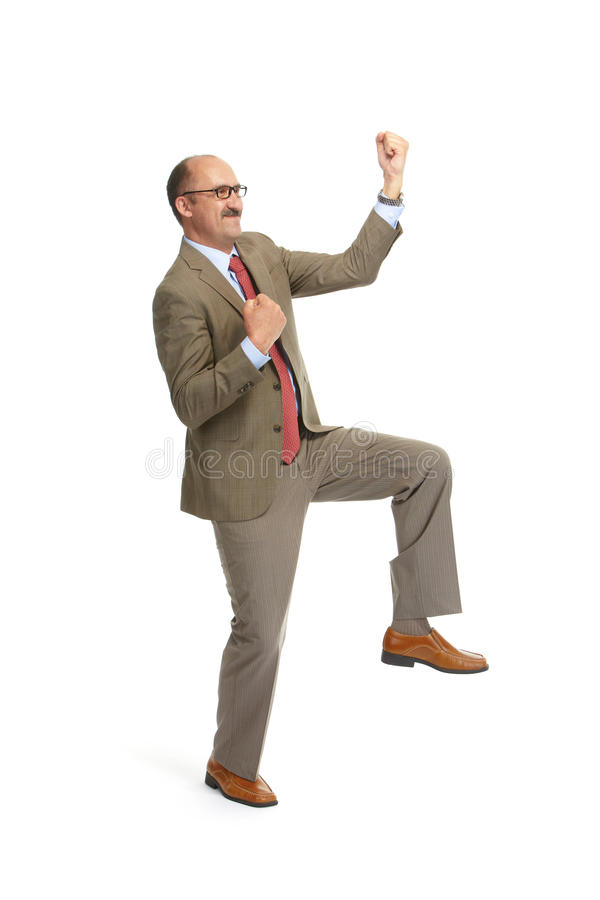 Free Businessman On A White Background Royalty Free Stock Photo - 36314195