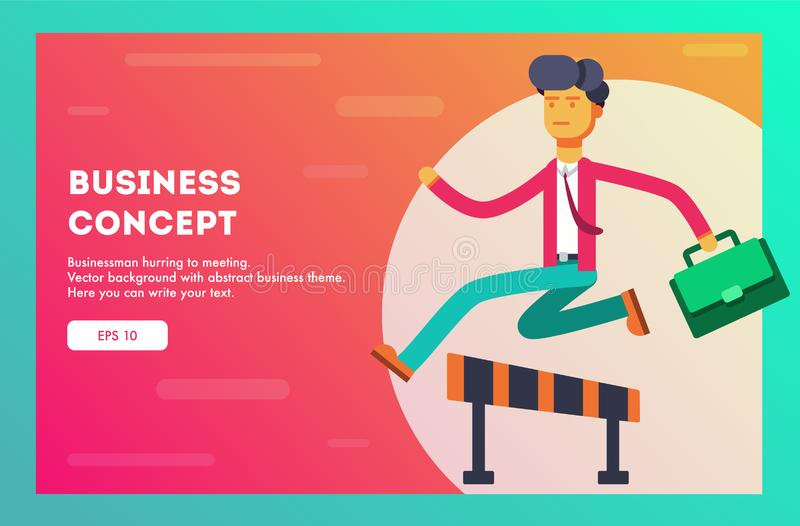 Business concept. Vector illustration stock illustration