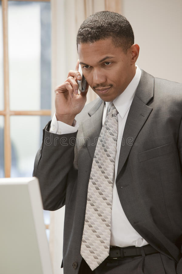 Download Businessman On The Phone Stock Photo - Image: 19156150