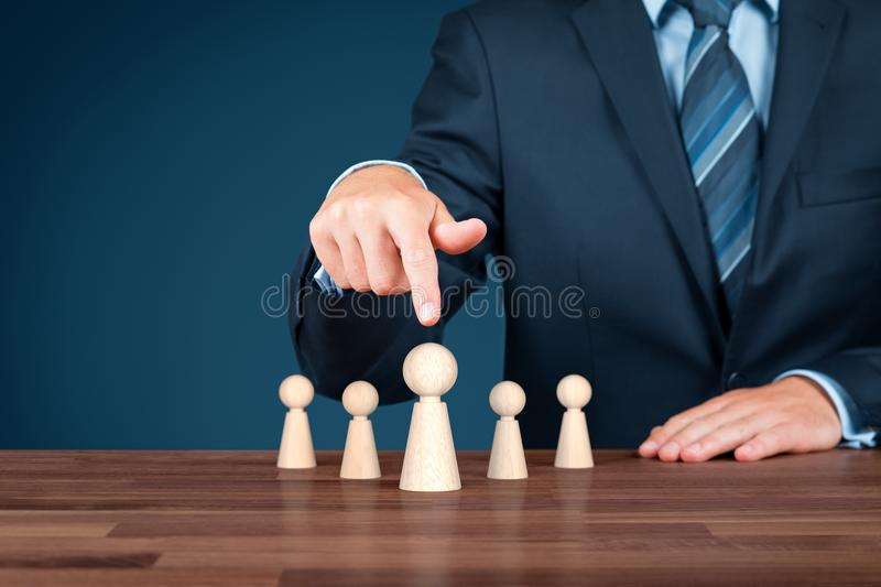 Leader royalty free stock photography