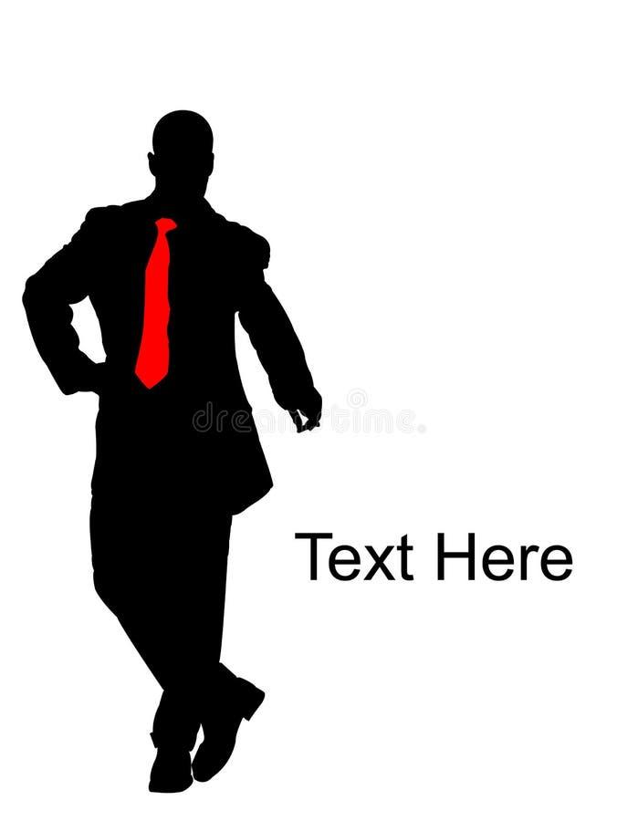 Download Businessman Pointing Downwards Stock Illustration - Image: 7057888